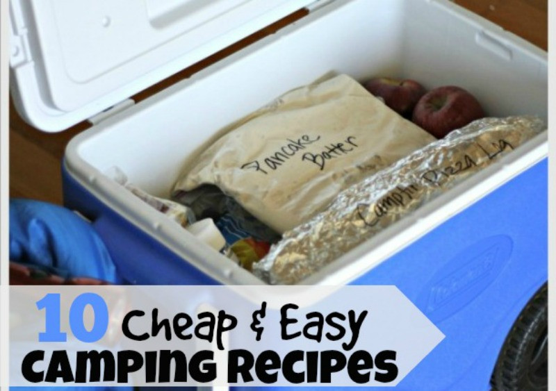 Easy Camping Dinners For Large Groups  10 Easy and Cheap Camping Meals