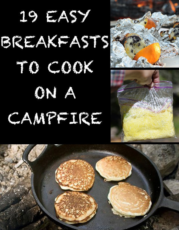 Easy Camping Dinners For Large Groups  19 Easy Breakfasts For Your Next Camping Trip