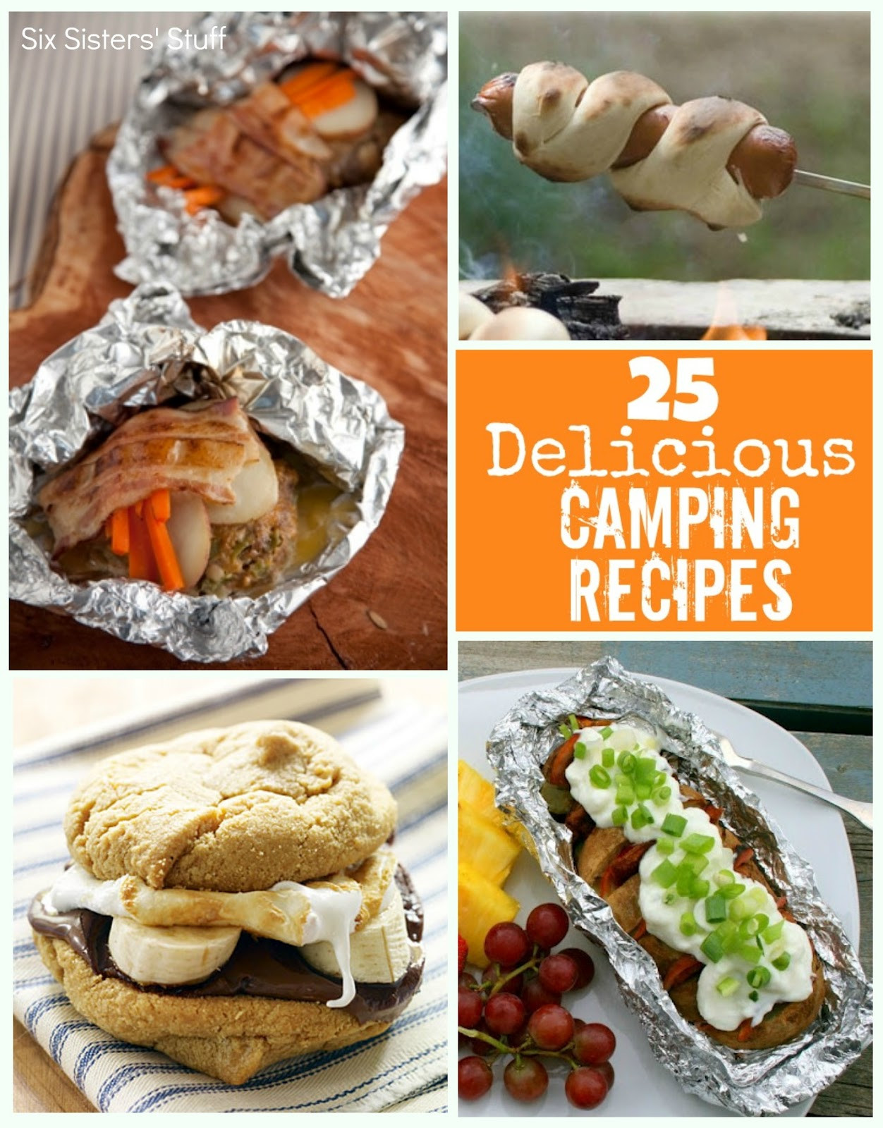 Easy Camping Dinners For Large Groups  25 Delicious Camping Recipes Six Sisters Stuff