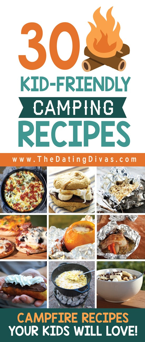 Easy Camping Dinners For Large Groups  Over 100 Ideas For Camping With Kids from The Dating Divas