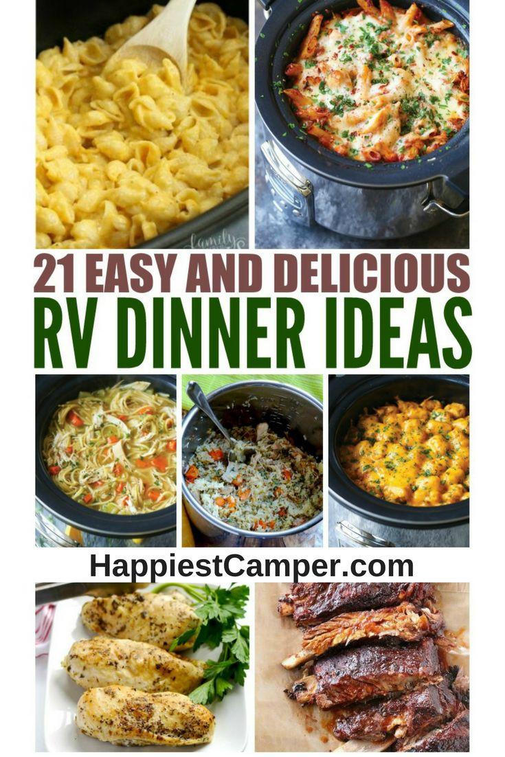 Easy Camping Dinners  De 25 bedste idéer inden for Camping dinner ideas på