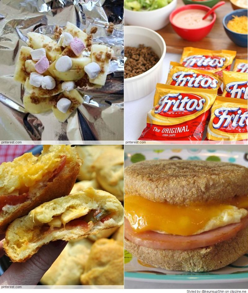 "Easy Camping Dinners  EASY Camping Recipes All about ""Food"" Pinterest"