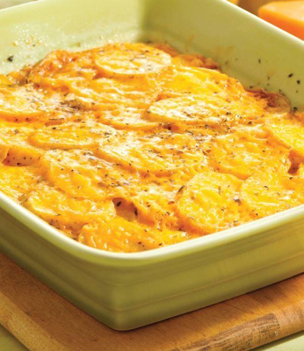 Easy Casseroles Healthy  Quick & Easy Potato Casserole veggies dairy MyPlate