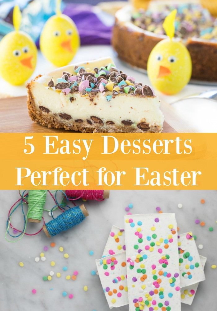 Easy Desserts For Easter  5 Easy Desserts Perfect for Easter SoFabFood Recipes