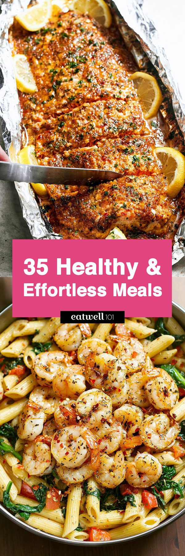 Easy Dinner Ideas Healthy  43 Low Effort and Healthy Dinner Recipes — Eatwell101