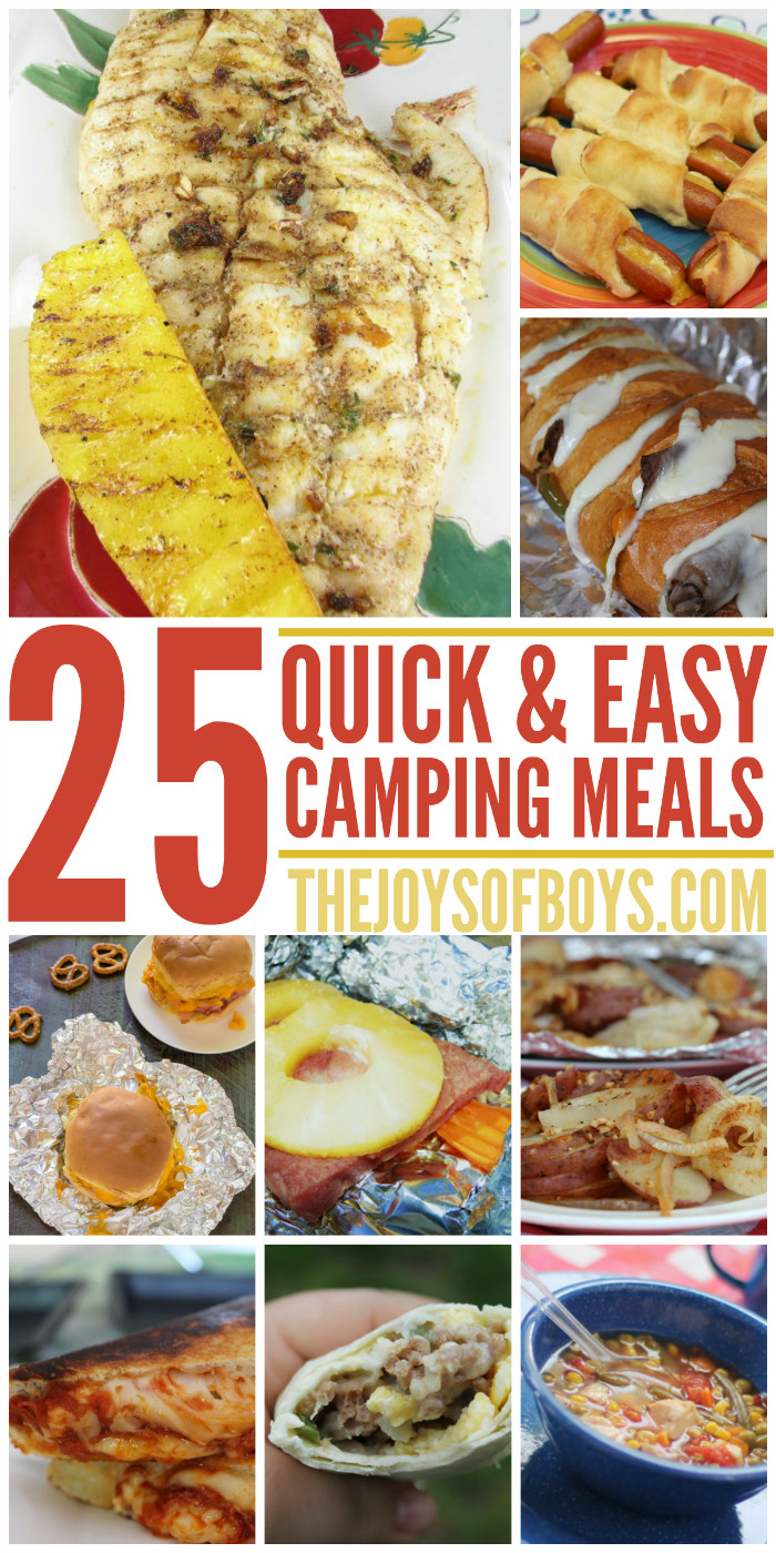 Easy Dinners For Camping  Fast Easy Camping Meals Kids will Love