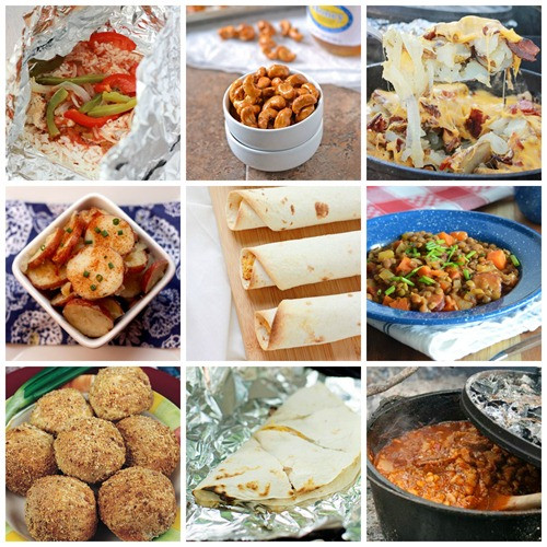 Easy Dinners For Camping  45 Easy Camping Recipes e Sweet Appetite