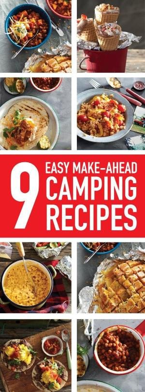 Easy Dinners For Camping  Some good camping food and prep ahead