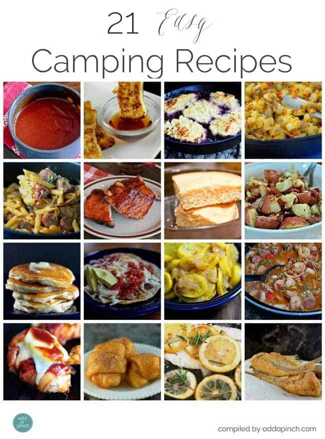 Easy Dinners For Camping  21 Easy Camping Recipes Add a Pinch
