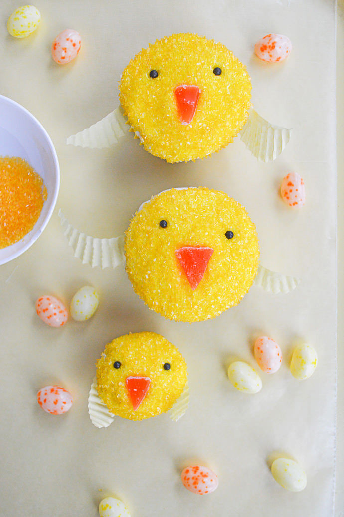 Easy Easter Cupcakes  Easter Cupcake Decorating Ideas For Kids