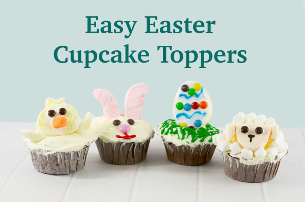 Easy Easter Cupcakes  Easy Easter Cupcake Toppers Sprinkle Some Fun