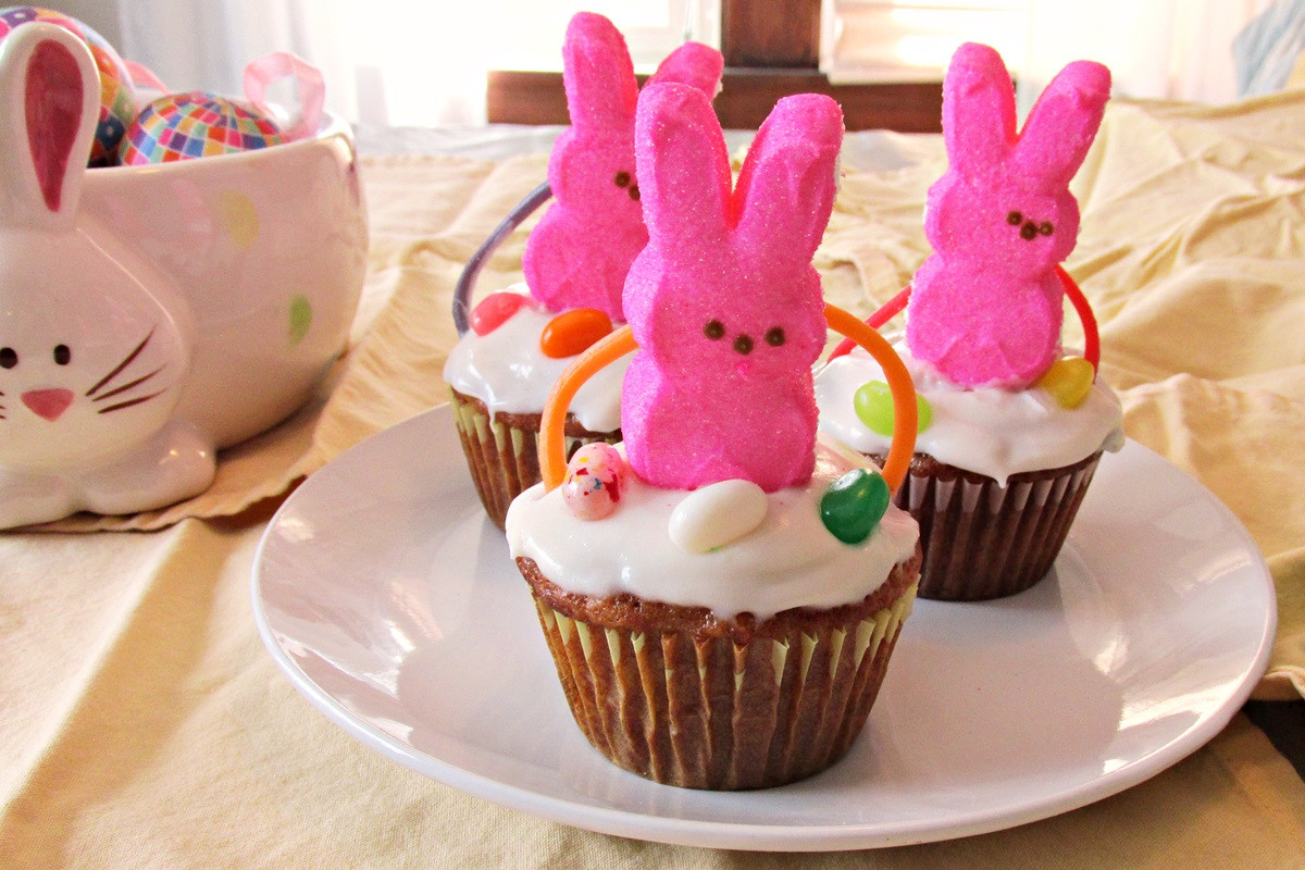 Easy Easter Cupcakes  Easter Basket Cupcakes A Fun & Easy DIY Project