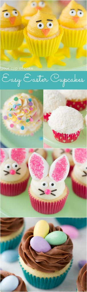 Easy Easter Cupcakes  Chocolate Whopper Egg Cupcakes Your Cup of Cake
