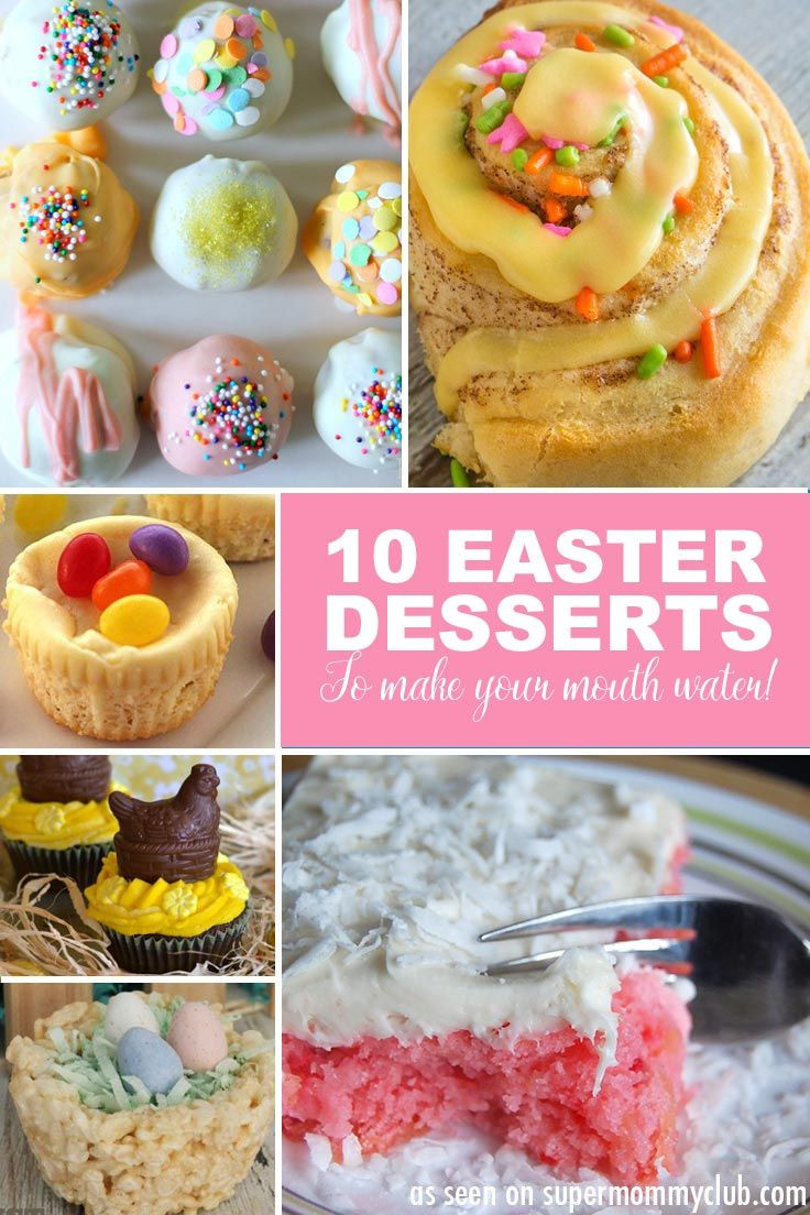 Easy Easter Dessert  10 Easy Easter Desserts Your Family Will Love