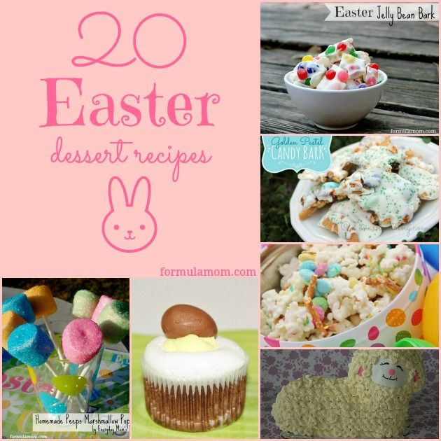 Easy Easter Dessert  20 Easter Dessert Recipes