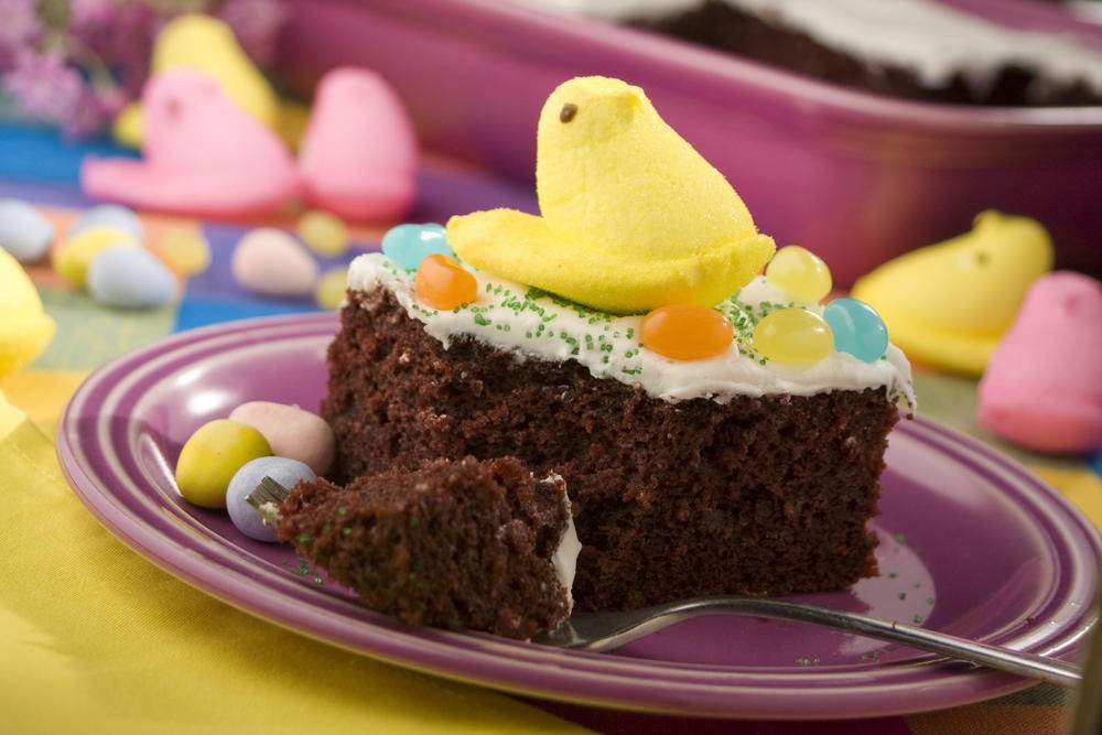 Easy Easter Dessert Recipies  Easter Candy Cake