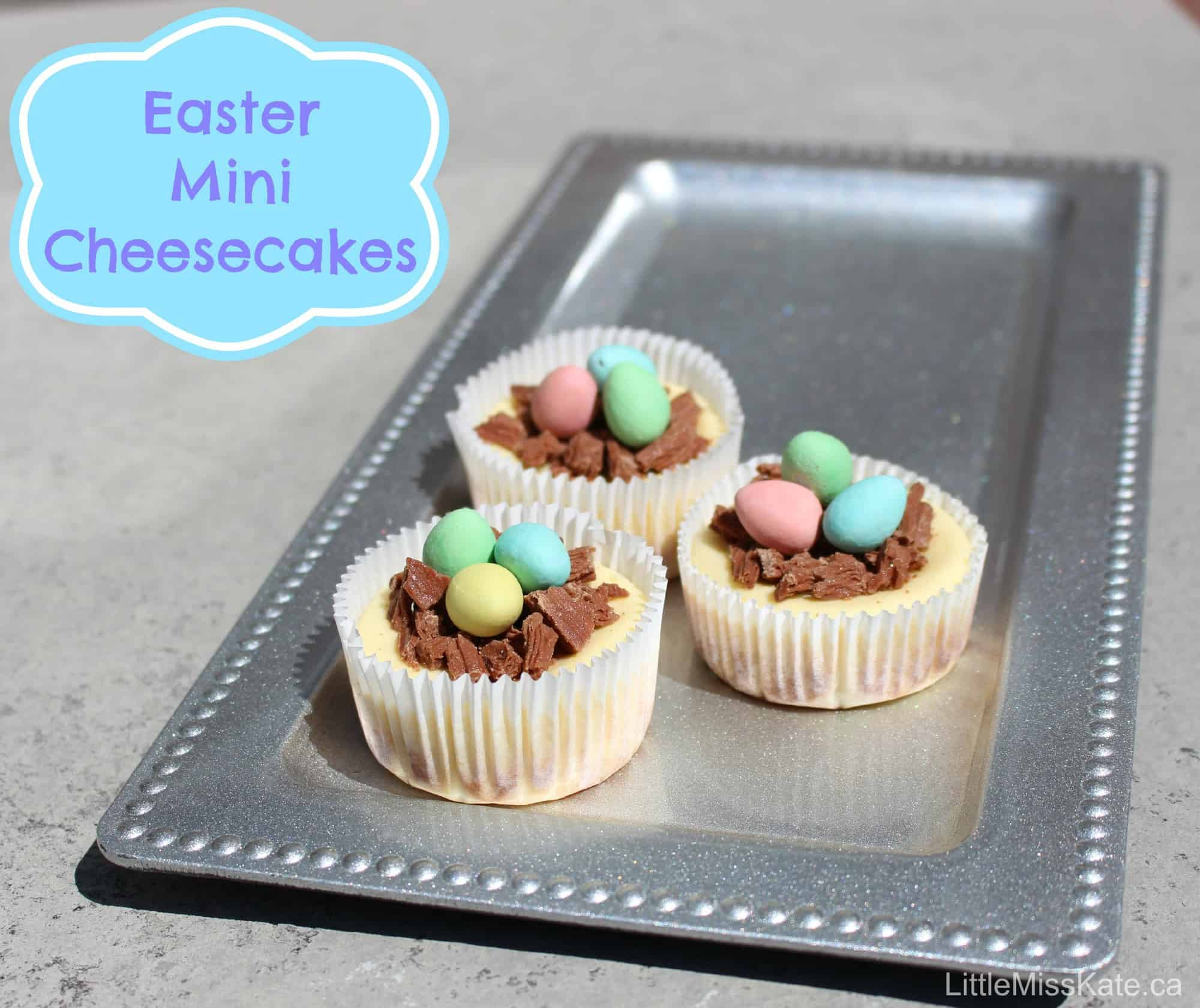 Easy Easter Dessert Recipies  Easter Dessert Ideas Easy Mini Cheesecake Recipe Little