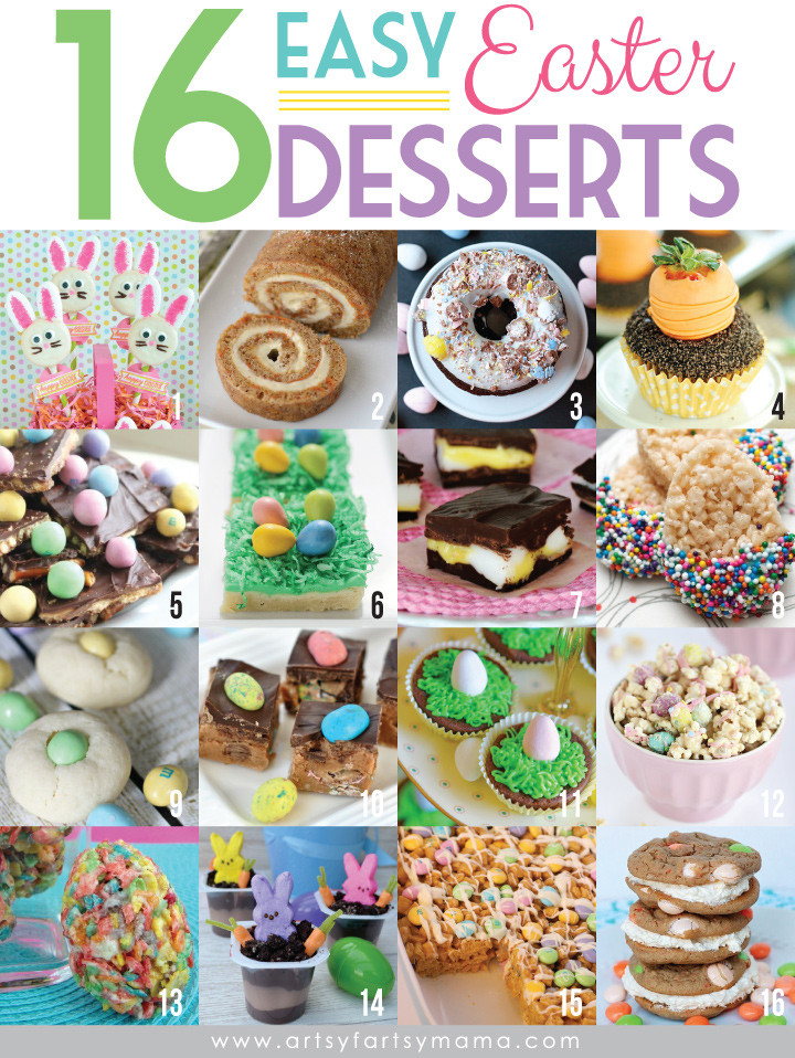 Easy Easter Dessert Recipies  16 Easy Easter Desserts