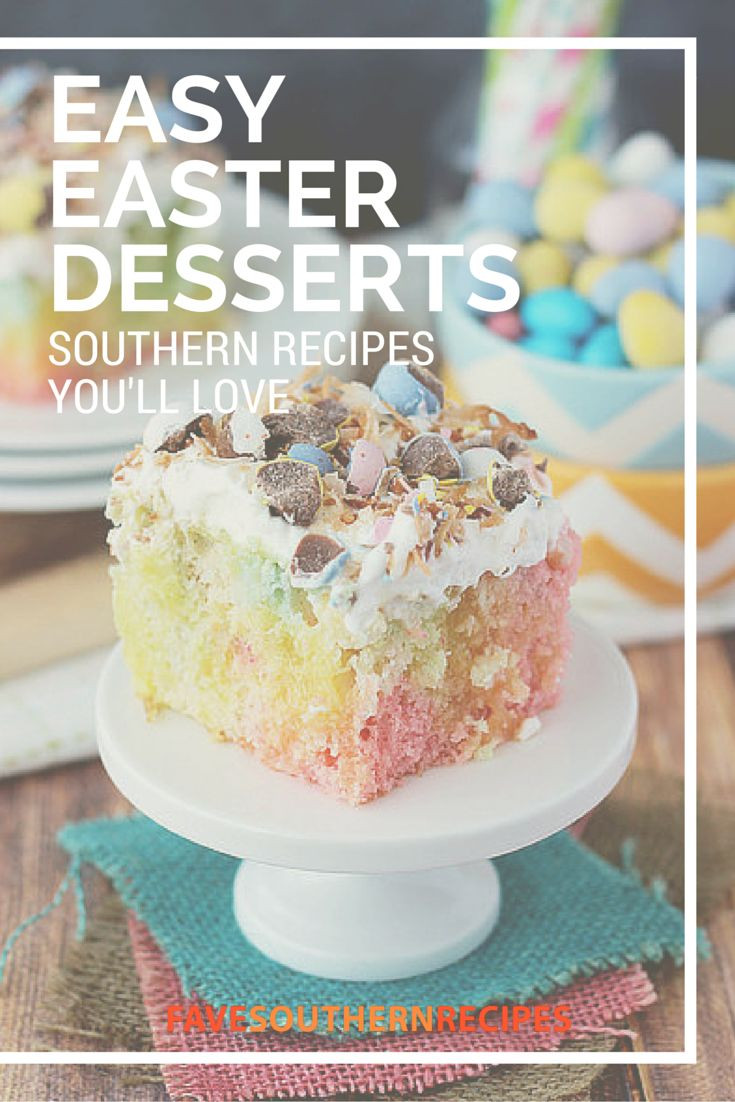 Easy Easter Desserts  1000 images about Easter Meal and Crafts on Pinterest