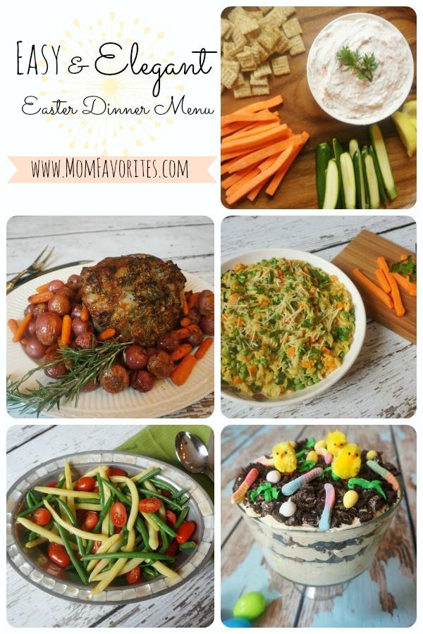 Easy Easter Dinner  Easy & Elegant Easter Dinner Menu Mom Favorites