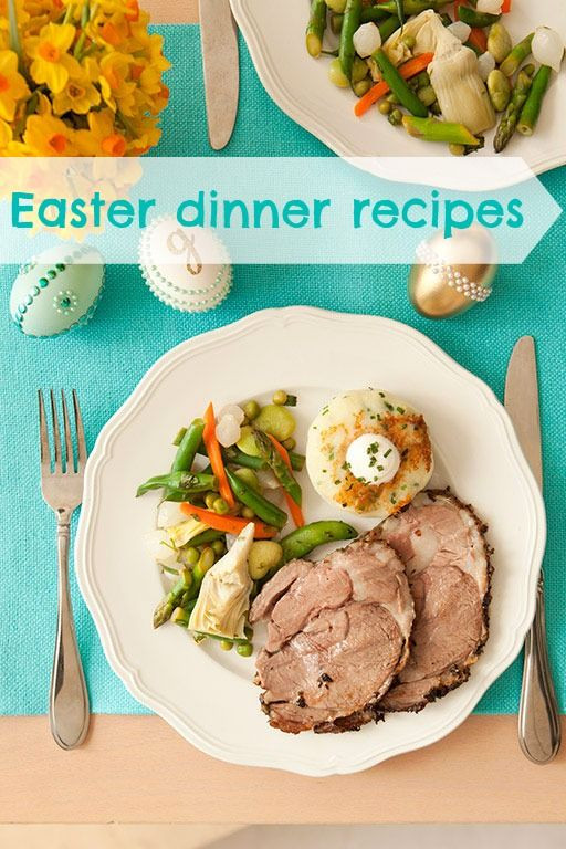Easy Easter Dinner Recipes  8 best images about Recipes Easter Dinner on Pinterest
