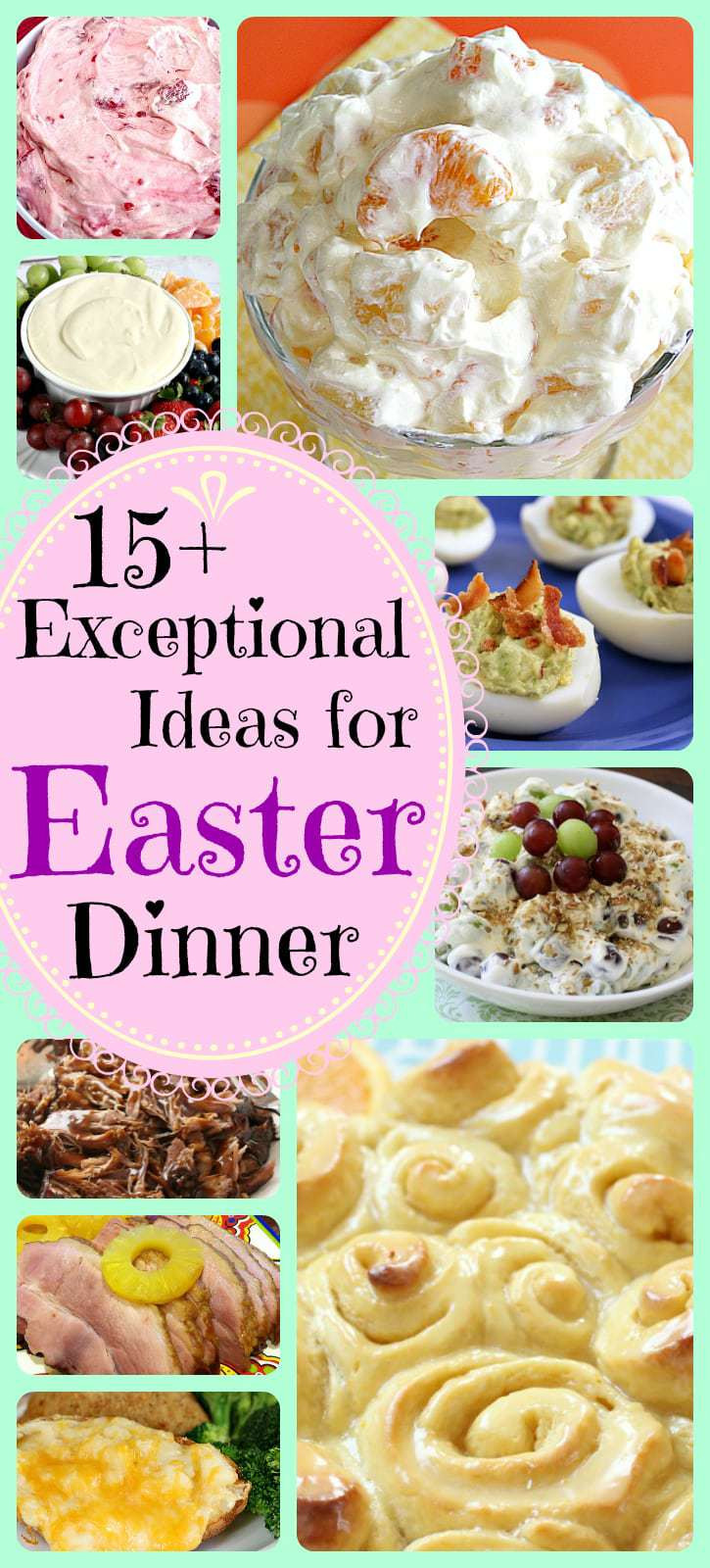 Easy Easter Dinner Recipes  EASY & DELICIOUS EASTER DINNER RECIPES Butter with a
