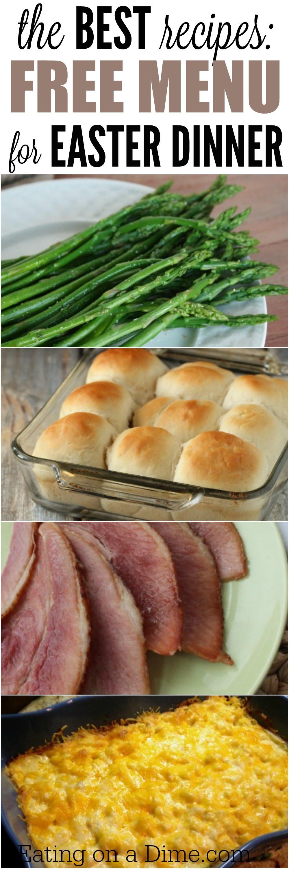 Easy Easter Recipes For Dinner  Easter Menu Ideas and Recipes The Best Easter Dinner recipes