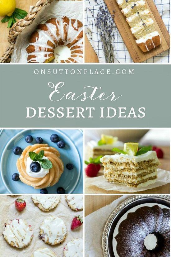 Easy Easter Recipes For Dinner  Best 25 Easy easter desserts ideas on Pinterest