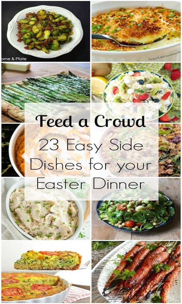 Easy Easter Side Dishes  23 Easy Side Dishes – Edible Crafts