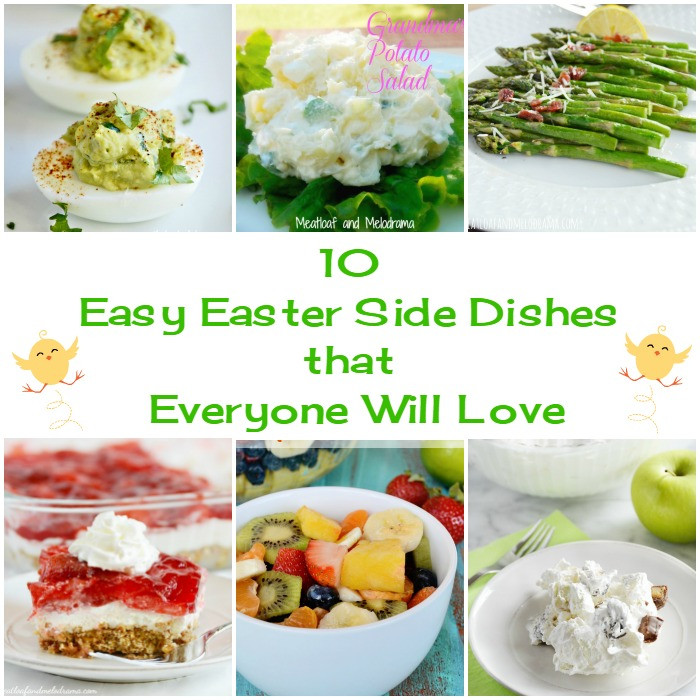 Easy Easter Side Dishes  10 Easy Easter Side Dishes Meatloaf and Melodrama