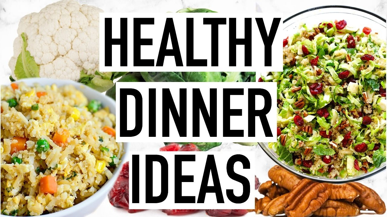 Easy Fast Healthy Dinner Recipes  HEALTHY DINNER IDEAS Easy And Quick Dinner Recipes