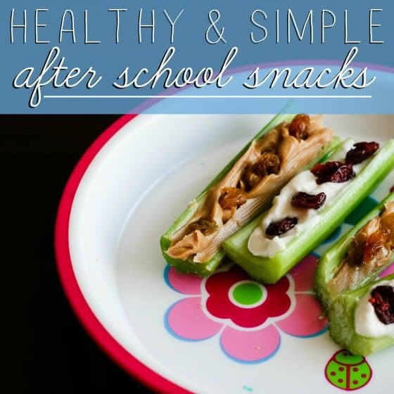 Easy Healthy Afterschool Snacks  Healthy and Simple After School Snacks Daily Mom