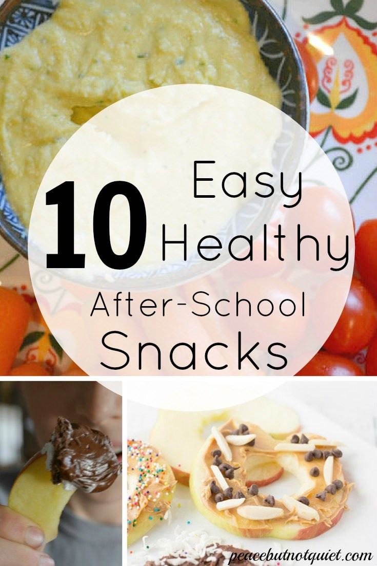 Easy Healthy Afterschool Snacks  10 Easy After School Snacks