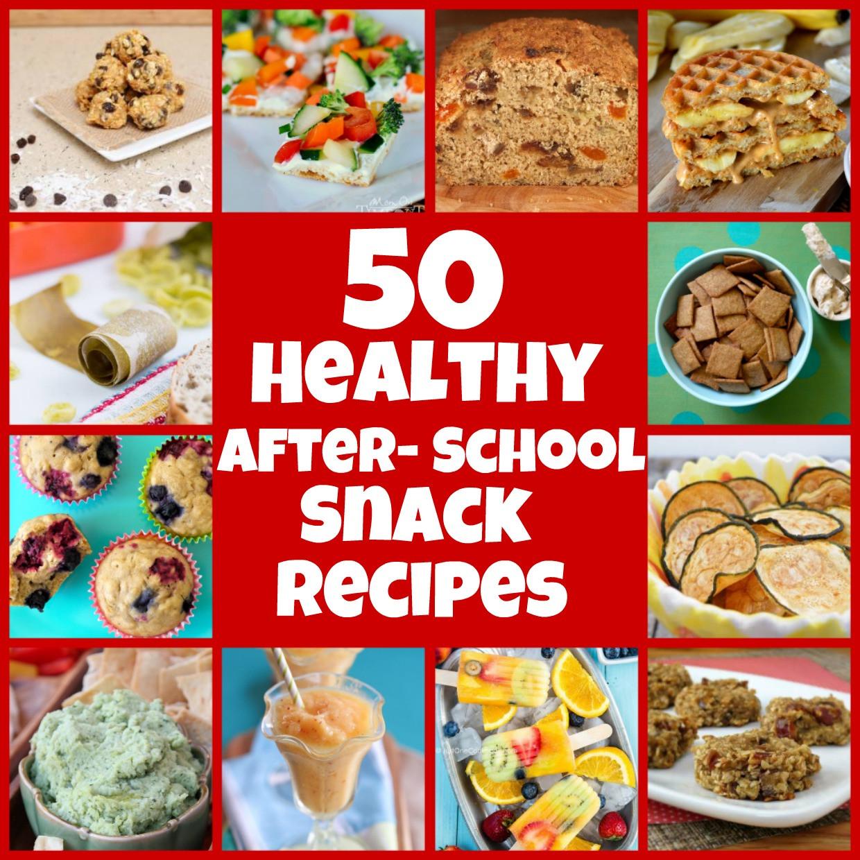 Easy Healthy Afterschool Snacks  healthy snacks for kids at school