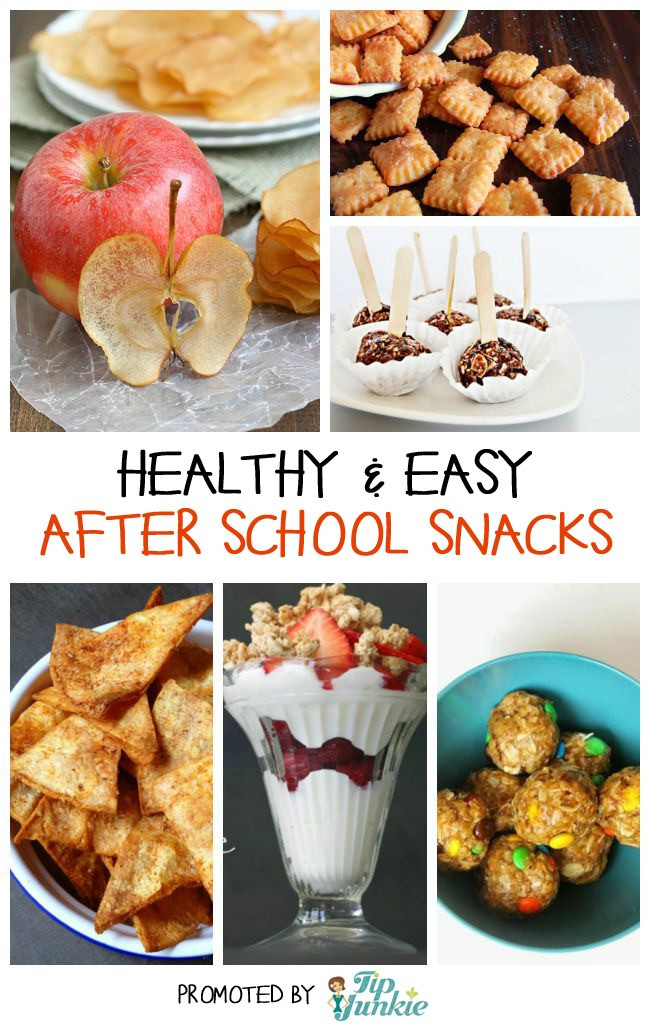 Easy Healthy Afterschool Snacks  13 Easy & Healthy After School Snack Recipes