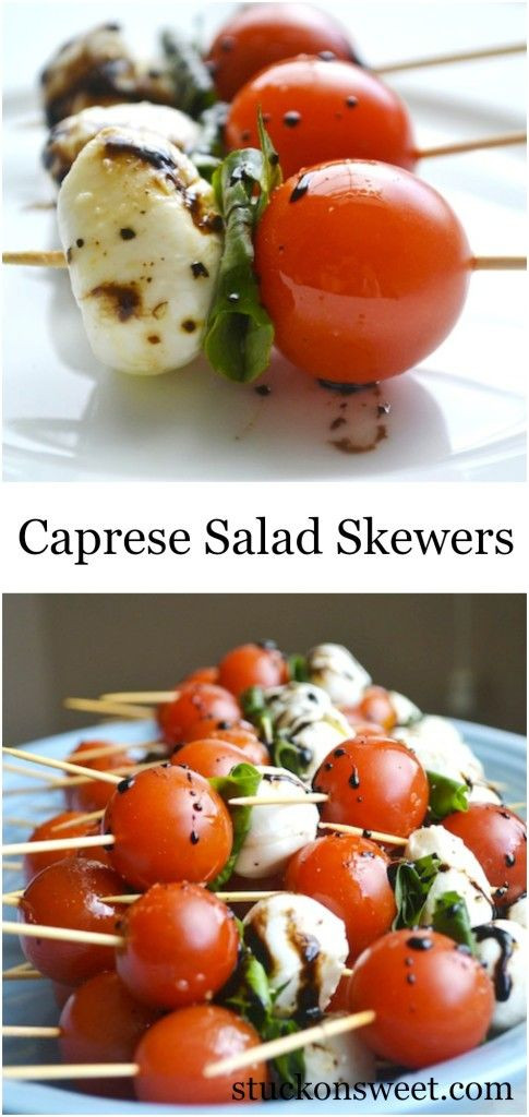Easy Healthy Appetizers Finger Foods  25 best ideas about Caprese Skewers on Pinterest