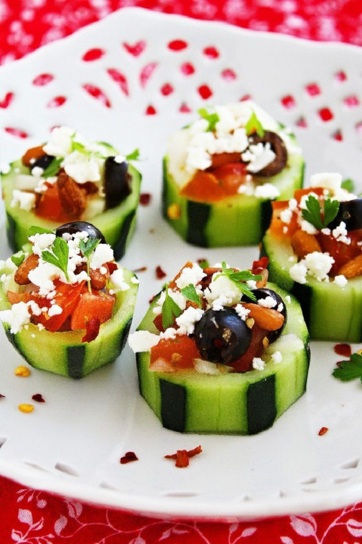 Easy Healthy Appetizers Finger Foods  Bridal Shower Appetizers on Pinterest