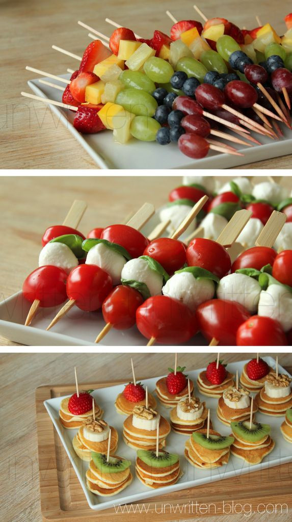Easy Healthy Appetizers Finger Foods  simple and beautiful finger food…little appetizers