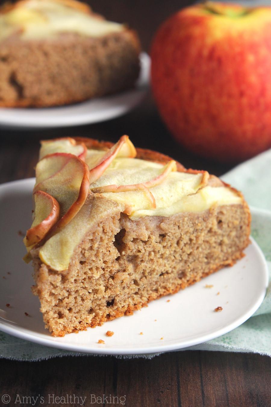 Easy Healthy Apple Desserts  Simple Cinnamon Apple Cake