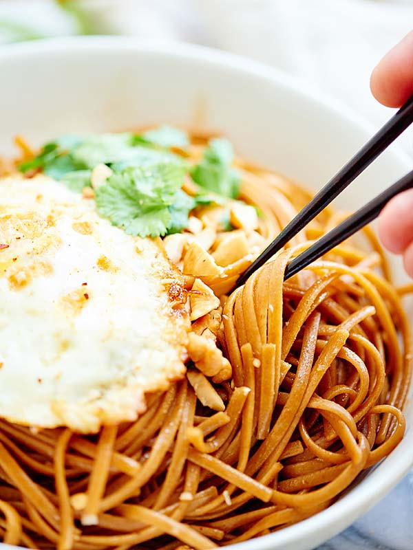 Easy Healthy Asian Recipes  Easy Asian Noodles Ve arian & Whole Wheat Pasta
