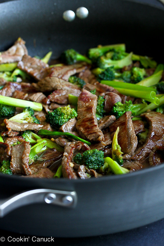 Easy Healthy Asian Recipes  Chinese Beef & Broccoli Stir Fry Recipe