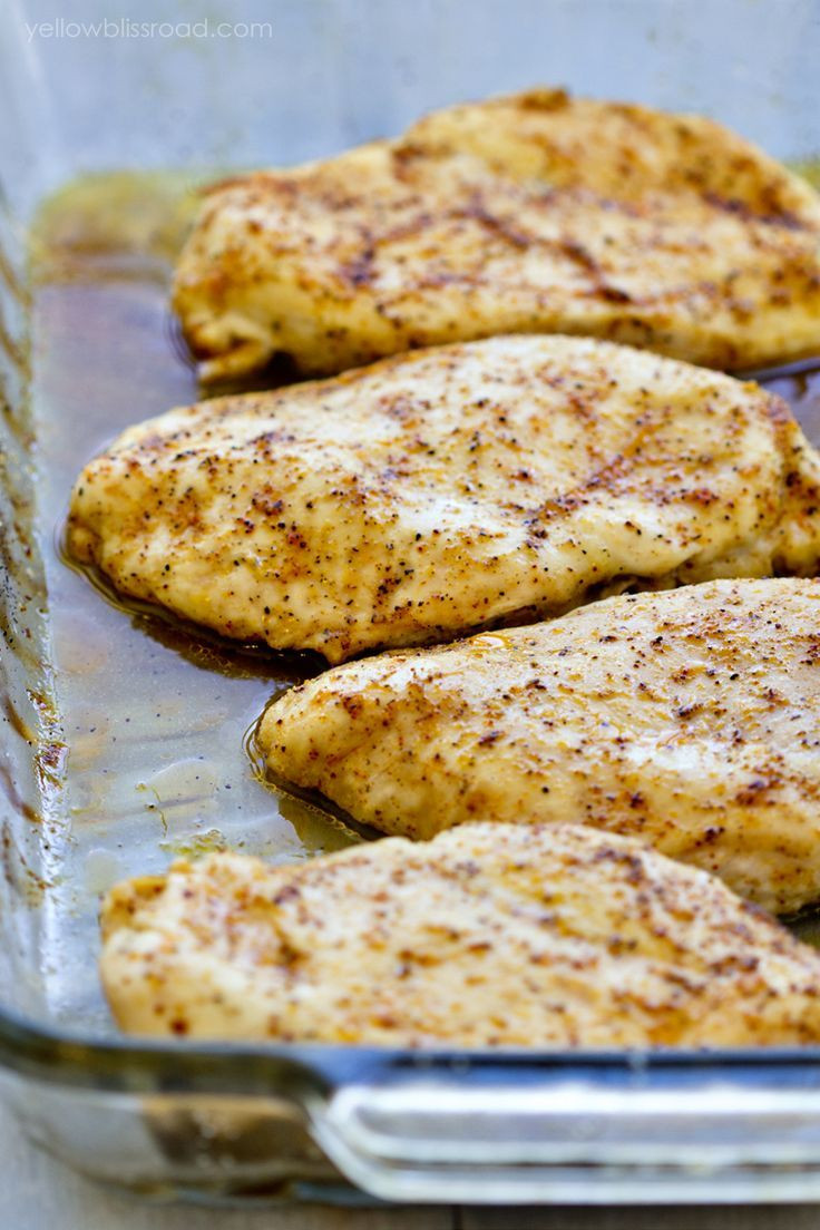 Easy Healthy Baked Chicken Recipes  Best 25 Baked Chicken ideas on Pinterest