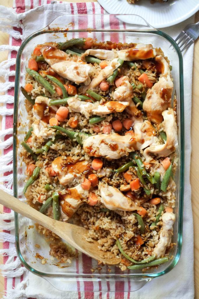 Easy Healthy Baked Chicken Recipes  Easy Teriyaki Chicken Bake Recipe