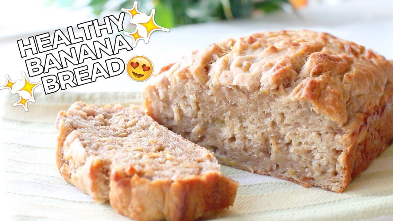 Easy Healthy Banana Bread Recipe  Healthy Banana Bread Delicious Easy & Vegan Recipe