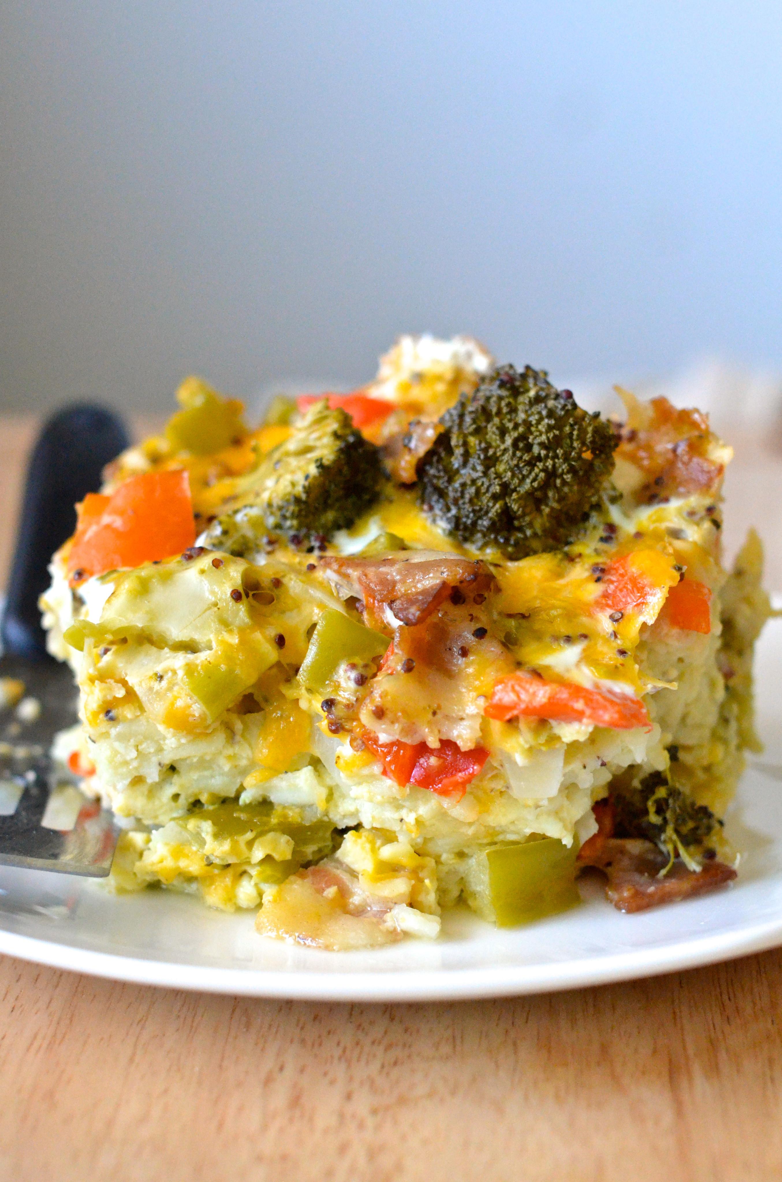 Easy Healthy Breakfast Casserole  Healthy Crockpot Breakfast Casserole