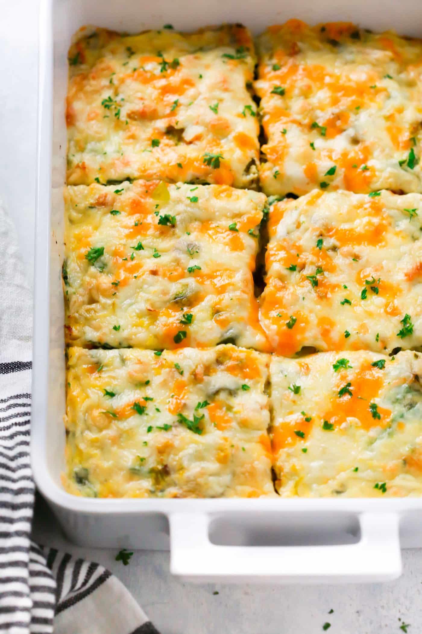 Easy Healthy Breakfast Casserole  Make Ahead Veggie Breakfast Casserole Primavera Kitchen