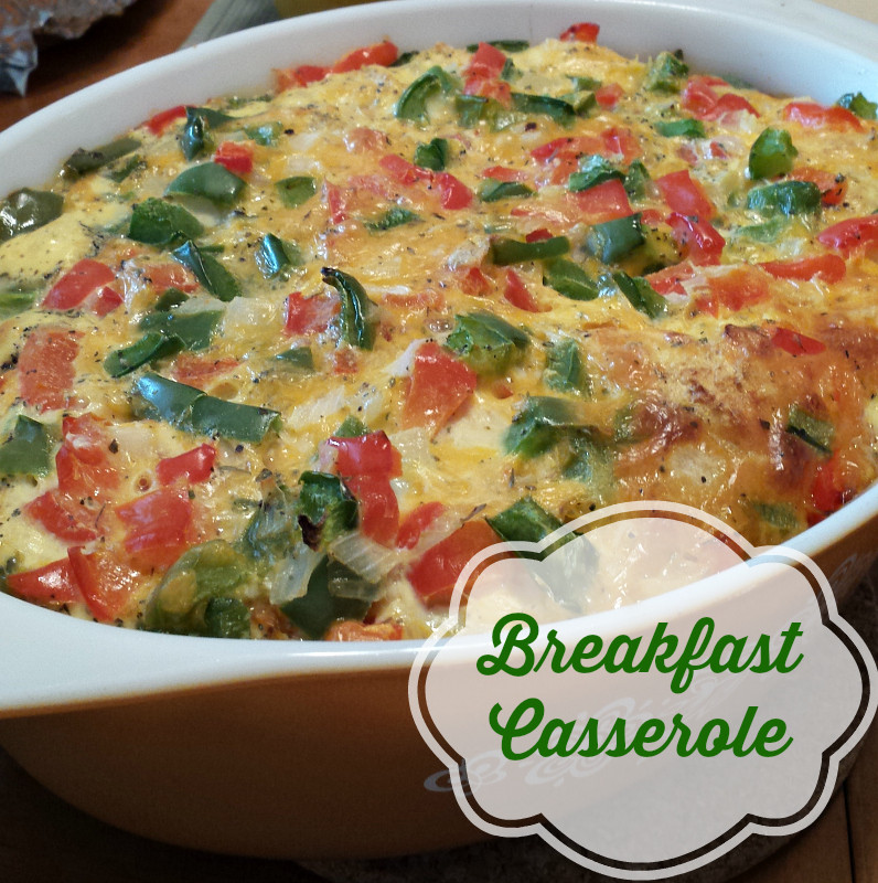 Easy Healthy Breakfast Casserole  Healthy Breakfast Casserole recipe