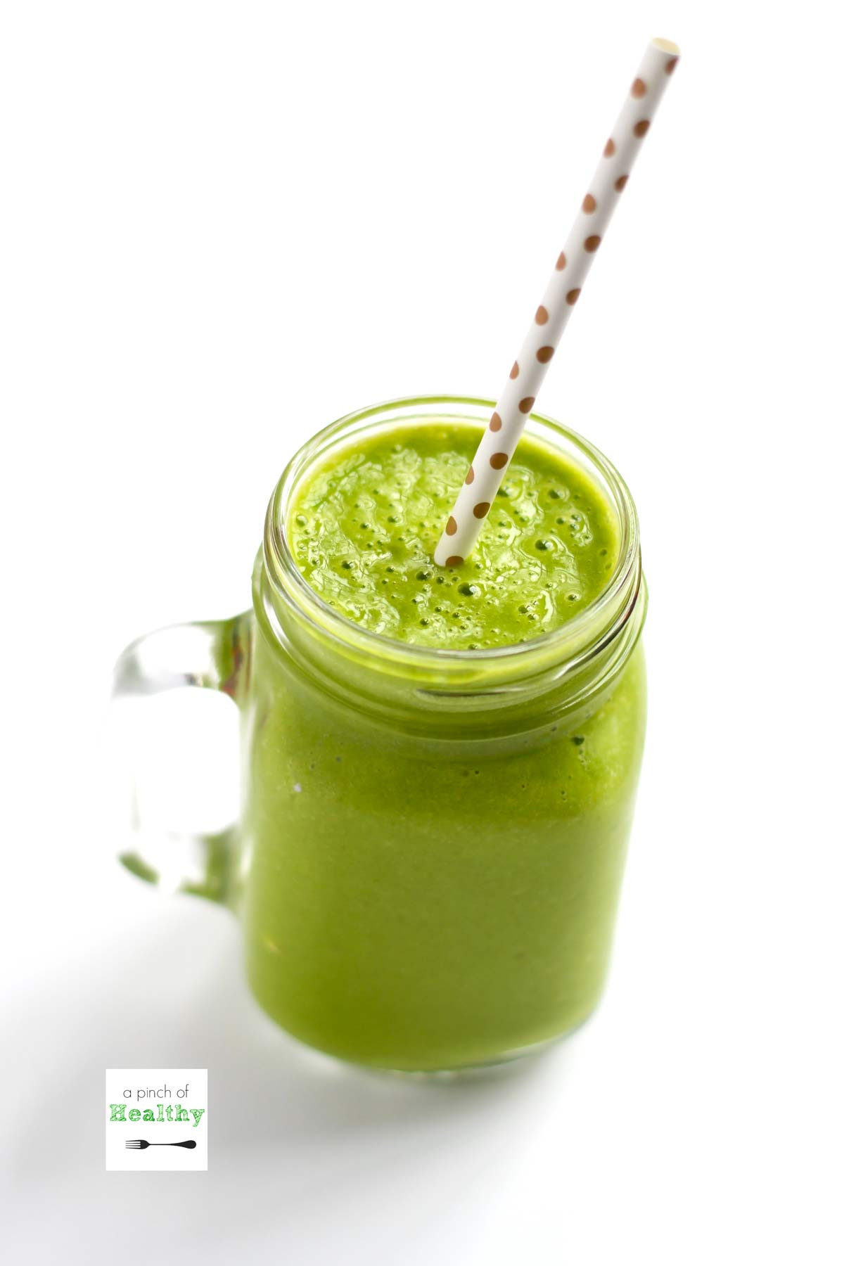Easy Healthy Breakfast Smoothie  Simple Green Smoothie A Pinch of Healthy