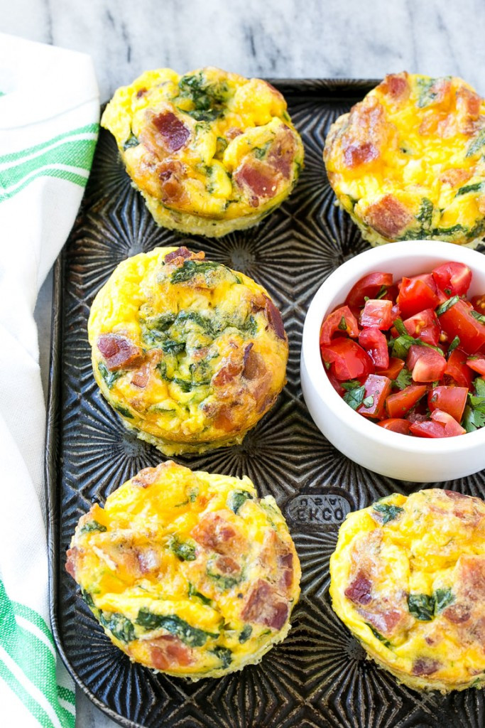Easy Healthy Breakfast  Breakfast Egg Muffins Dinner at the Zoo