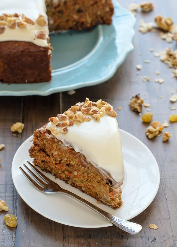 Easy Healthy Carrot Cake Recipe  20 Lightened Up Easter Desserts Healthy Spring Sweets